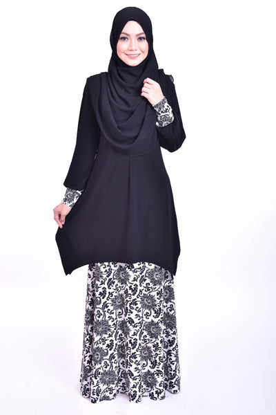 SB007E - BUSHRA (Top+Skirt)