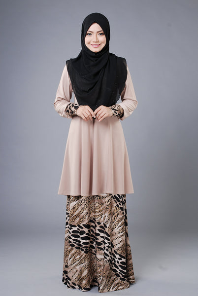 SR037A - RAISYA (Top+Skirt) - Butik NURSAFIA