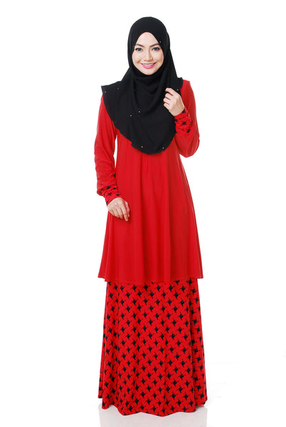 SR054G - RAISYA (Top+Skirt)
