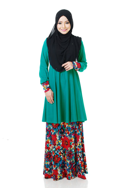 SR058F - RAISYA (Top+Skirt)