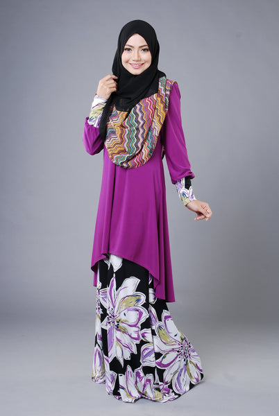SA009B - AUFA (Top+Skirt) - Butik NURSAFIA