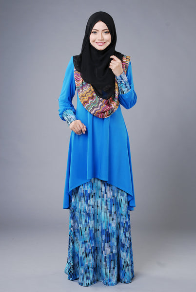 SA009C - AUFA (Top+Skirt) - Butik NURSAFIA
