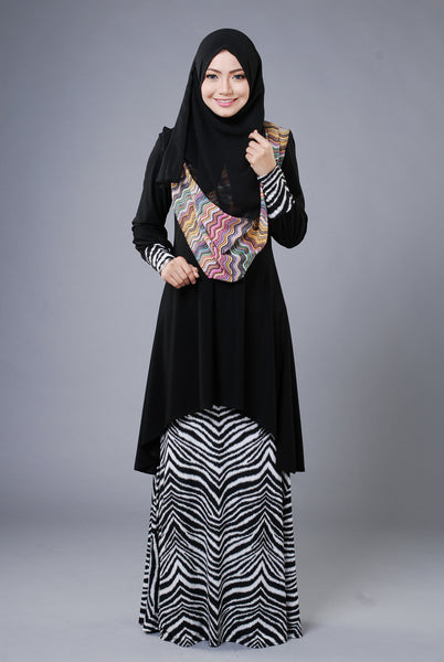 SA010C - AUFA (Top+Skirt) - Butik NURSAFIA