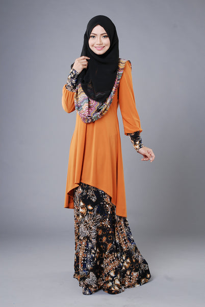 SA010D - AUFA (Top+Skirt) - Butik NURSAFIA