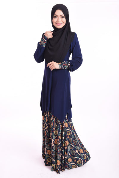 SB003A - BUSHRA (Top+Skirt) - Butik NURSAFIA