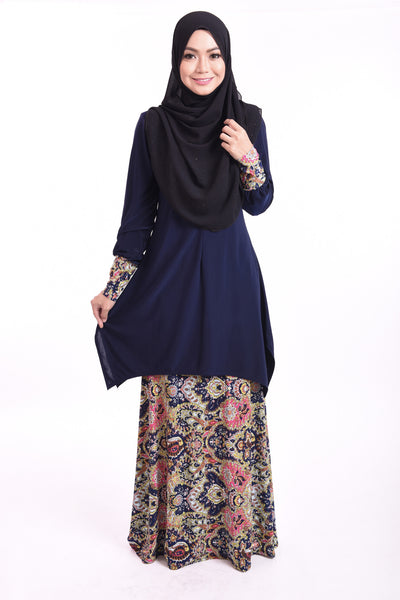 SB003D - BUSHRA (Top+Skirt)