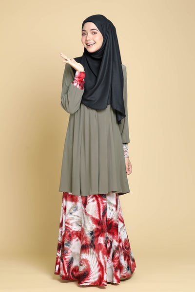 SR061A - RAISYA (Top+Skirt)