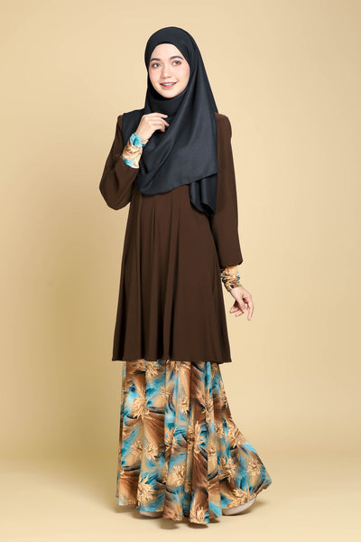 SR061C - RAISYA (Top+Skirt)