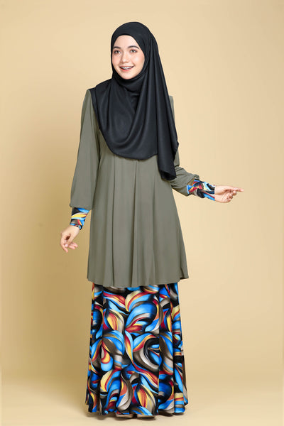SR061D - RAISYA (Top+Skirt)