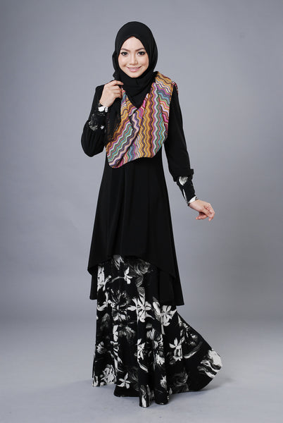 SA019E - AUFA (Top+Skirt) - Butik NURSAFIA