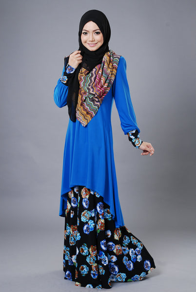 SA019G - AUFA (Top+Skirt) - Butik NURSAFIA