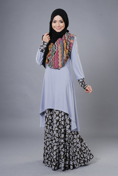 SA023D - AUFA (Top+Skirt) - Butik NURSAFIA