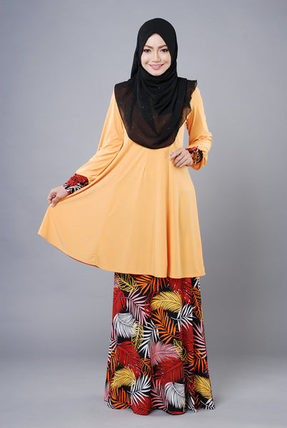 SR033B - RAISYA (Top+Skirt) - Butik NURSAFIA