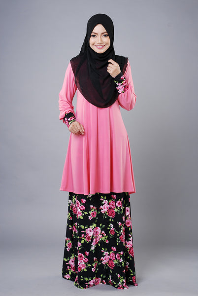 SR033G - RAISYA (Top+Skirt)