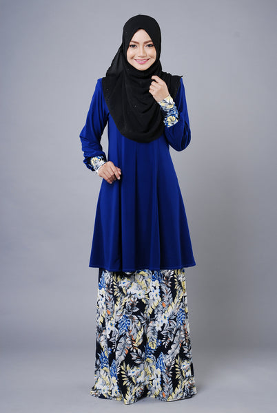 SR034E - RAISYA (Top+Skirt) - Butik NURSAFIA