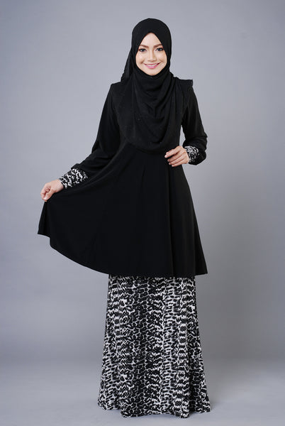 SR035A - RAISYA (Top+Skirt) - Butik NURSAFIA