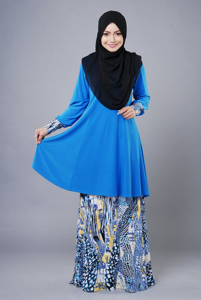SR036C - RAISYA (Top+Skirt) - Butik NURSAFIA
