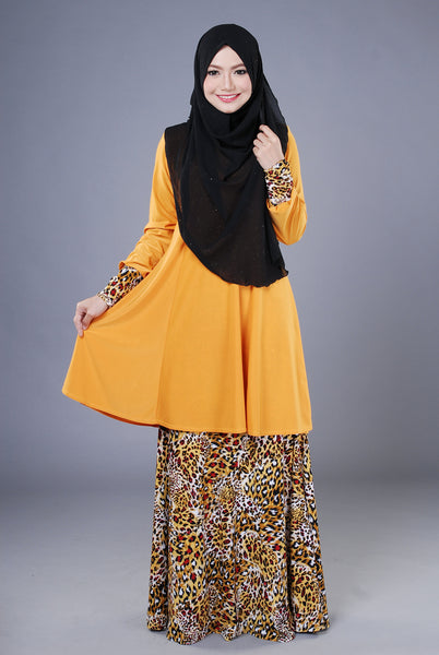 SR042A - RAISYA (Top+Skirt) - Butik NURSAFIA