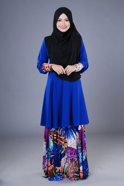 SR042B - RAISYA (Top+Skirt) - Butik NURSAFIA