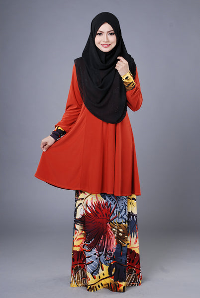 SR037E - RAISYA (Top+Skirt)