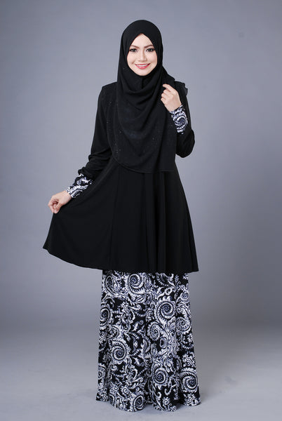 SR039C - RAISYA (Top+Skirt)