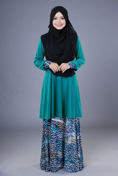 SR040F - RAISYA (Top+Skirt)