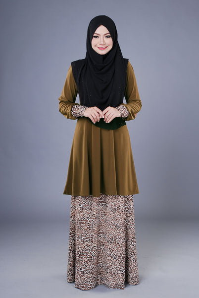 SR040G - RAISYA (Top+Skirt)