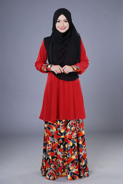 SR040H - RAISYA (Top+Skirt)
