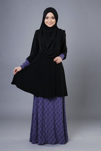 SR053A - RAISYA (Top+Skirt) - Butik NURSAFIA