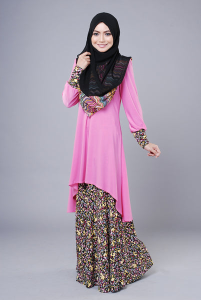 SA015H - AUFA (Top+Skirt) - Butik NURSAFIA