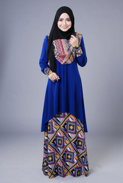 SA018A - AUFA (Top+Skirt) - Butik NURSAFIA