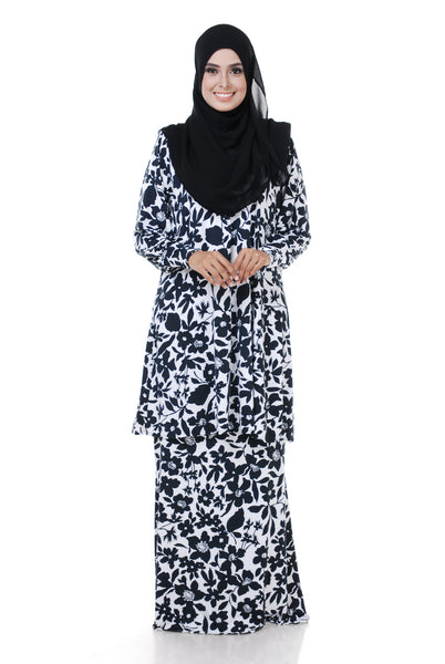 SZ003D - ZULFA (Top+Skirt) - Butik NURSAFIA