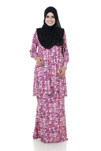 SZ004D - ZULFA (Top+Skirt)