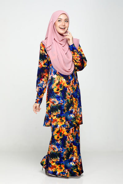 SZ021B - ZULFA (Top+Skirt)