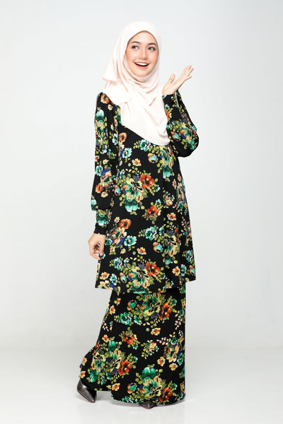 SZ021F - ZULFA (Top+Skirt)
