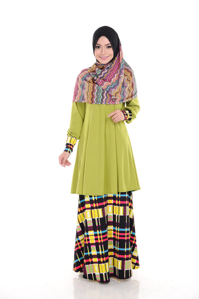 SR008G - RAISYA (Top+Skirt)