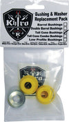 Khiro Tall Cone Bushing/Wash Kit 92A M-Hard Yel