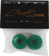 Sabre R-type Bushings 93a Clear green 2 Pack W/washers