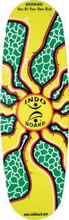 Indo Pro Sunburst Kit Skateboard Deck & Roller