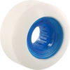 Powerflex Rock Candy 54mm 84b White/Clear.blue Skate Wheels