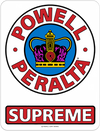 Powell Peralta Supreme Og 6 Decal Single