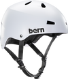 Bern Macon Satin White L Helmet