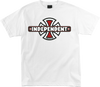 /Independent Vintage Cross Tee Small White