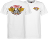 Powell Peralta Winged Ripper Tee Small White