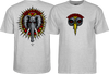 Powell Peralta Vallely Elephant Tee Small athletic Heather Grey