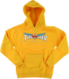 Thrasher Venture Collab Hoody/Sweater Medium gold/White /Blue