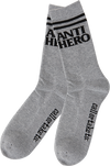 AntiHero Blackhero If Found Crew Socks Grey Heather 1 Pair