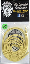 Bulletproof Kevlar Shoe Laces 45 Gold Single Set