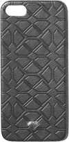 Diamond Split Leather Iphone5 Case Black