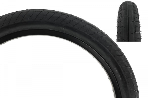 """DUO 20/"""" x 2.25/"""" WIRE BEAD BMX BICYCLE TIRE BLACK//WHITEWALL SVS BMX TIRE"""